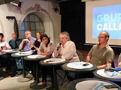 Alberto fernández y el grupo callao