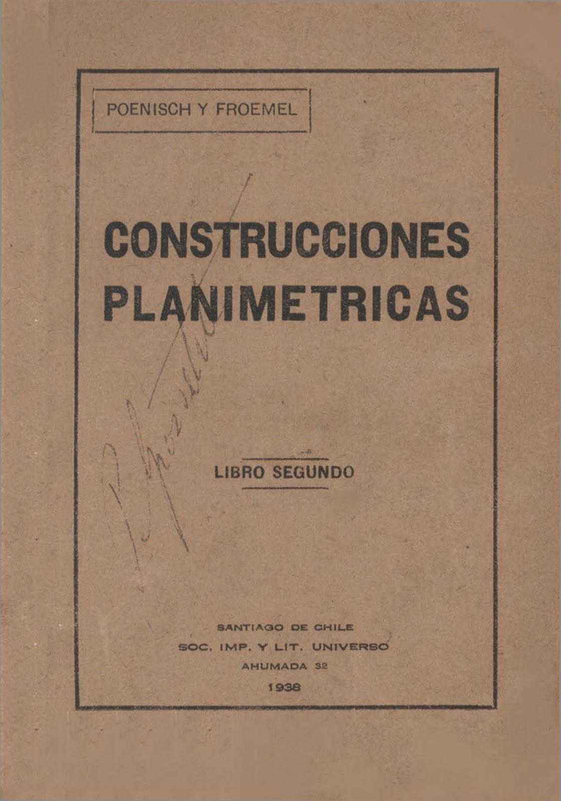 Construcciones Planimétricas – Ricardo Poenisch