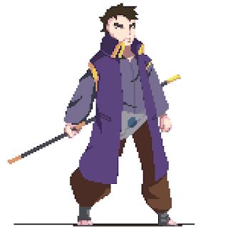 Kitane from Naruto Shippuden