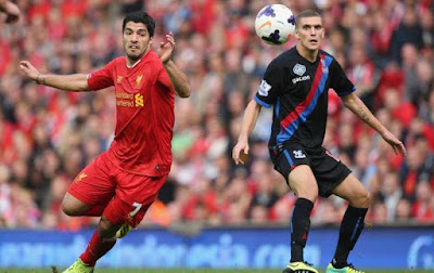 Crystal Palace vs Liverpool Premier League