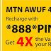 Hurry Up: Enjoy Amazing Awuf4u Bonus From MTN It's Now 300% Bonus