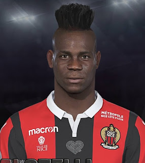 PES 2018 Faces Mario Balotelli by Prince Hamiz