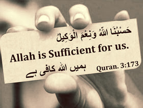 Allah is Sufficient for us - Islamic Quotes
