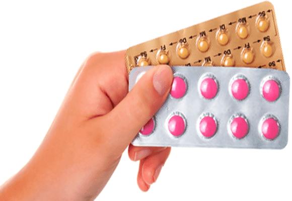 Pílulas-anticoncepcionais-embalagens