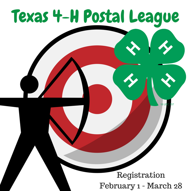 2017 2018 Texas 4 H Shooting Sports Postal Leagues Texas 4 H