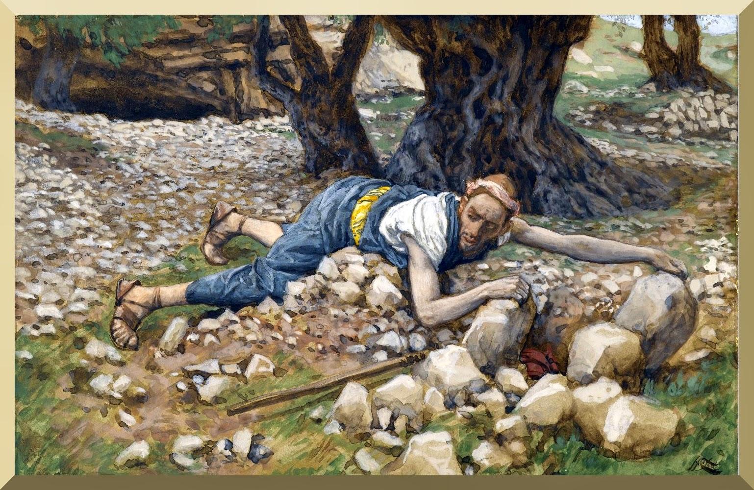 """The Hidden Treasure"" -- by James Tissot"