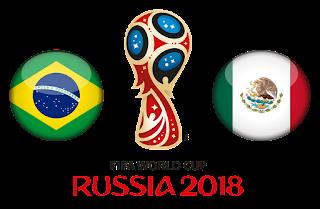 مشاهدة مباراة البرازيل و المكسيك في كأس العالم 2018 دور ال16 بتاريخ 02-07-2018 موقع ماتش لايف