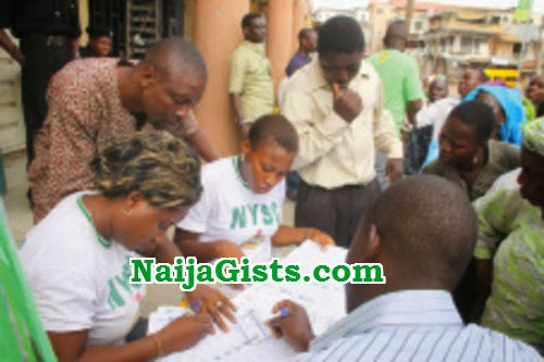 nysc corpers arrested election fraud
