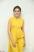Taapsee Pannu looks mesmerizing in Yellow for her Telugu Movie Anando hma motion poster launch ~  Exclusive 096.JPG