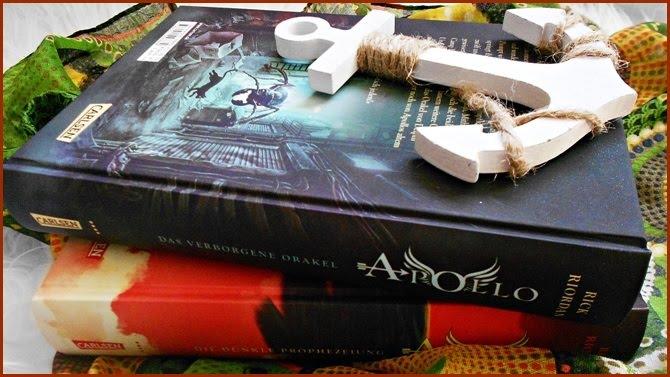 Die dunkle Prophezeiung Apollo Das brennende Labyrinth Band 3 Carlsen Leo Valdez Kalypso Kaleo Meg Thalia Grace