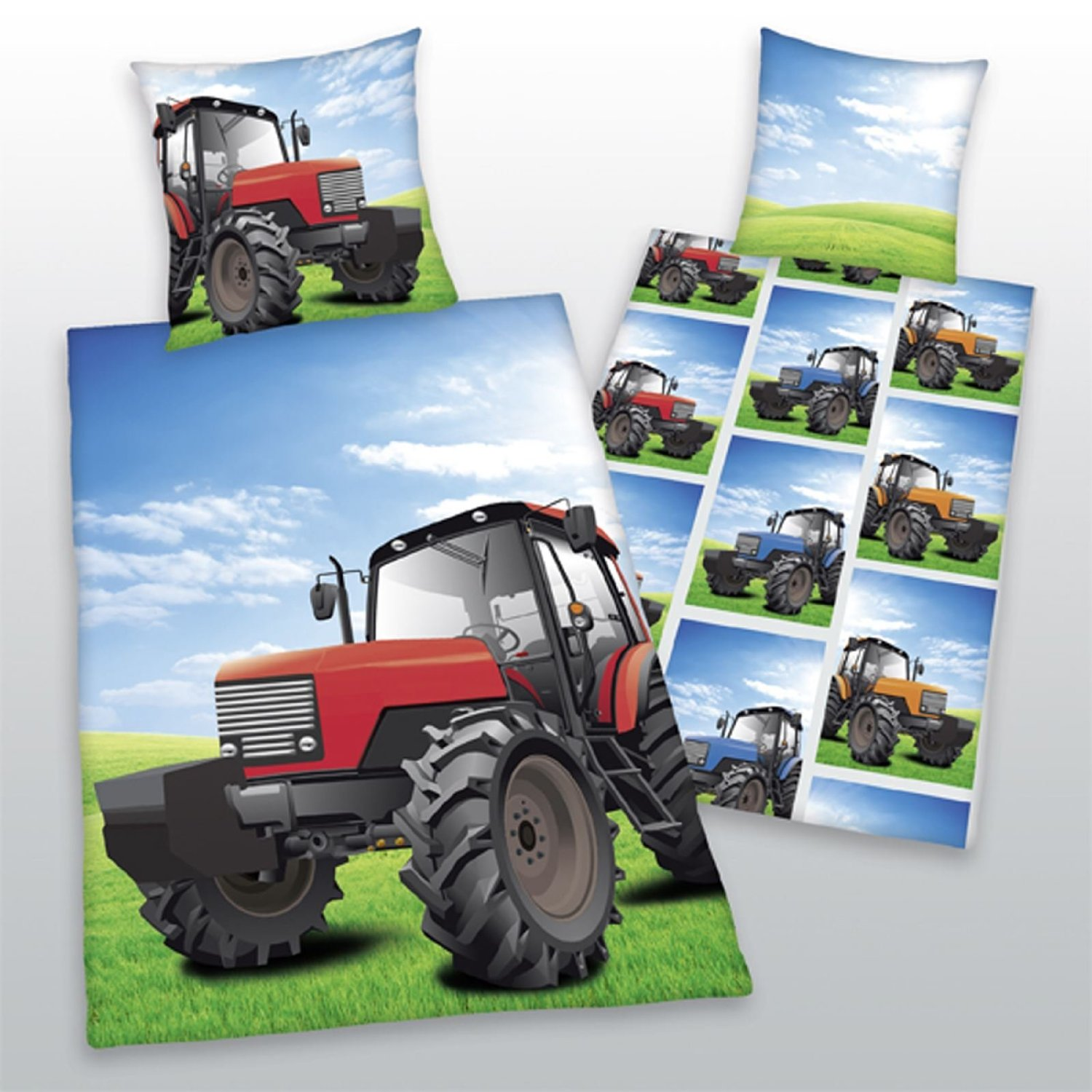 Very best Tractor Theme Bedding for Kids From Baby's Crib to Toddler On Up BA16