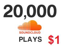 20000 Soundcloud Plays