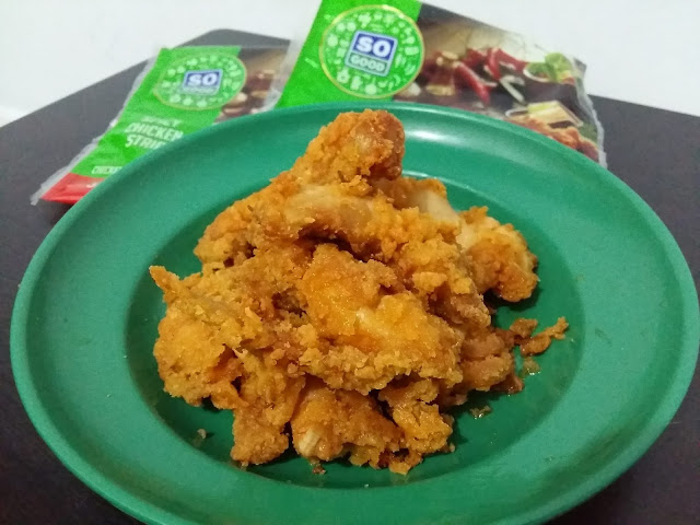 So Good Spicy Chicken Strip Pedasnya warbiasyak