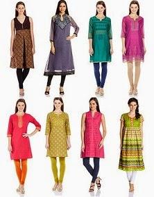 Flat 50% Off on Beautiful Collection of Women's Kurta / Kurti (Ethnicity, Mother Earth, Sattyaa)