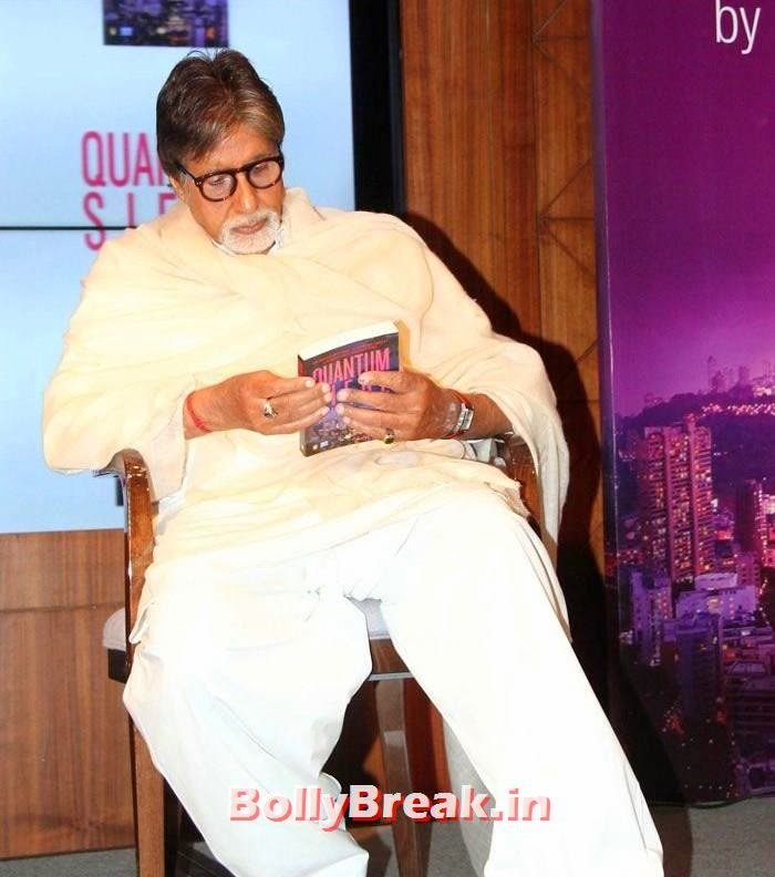 Amitabh Bachchan, Mandira Bedi, Bhagyashree at 'Quantum Siege' Book Launch by Amitabh Bachchan
