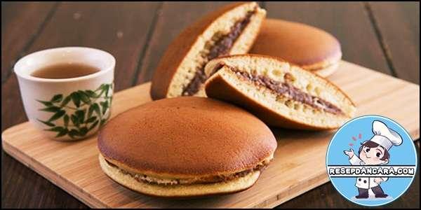 Resep dan Cara Membuat Dorayaki Isi Coklat dan Keju Sederhana dan Mudah