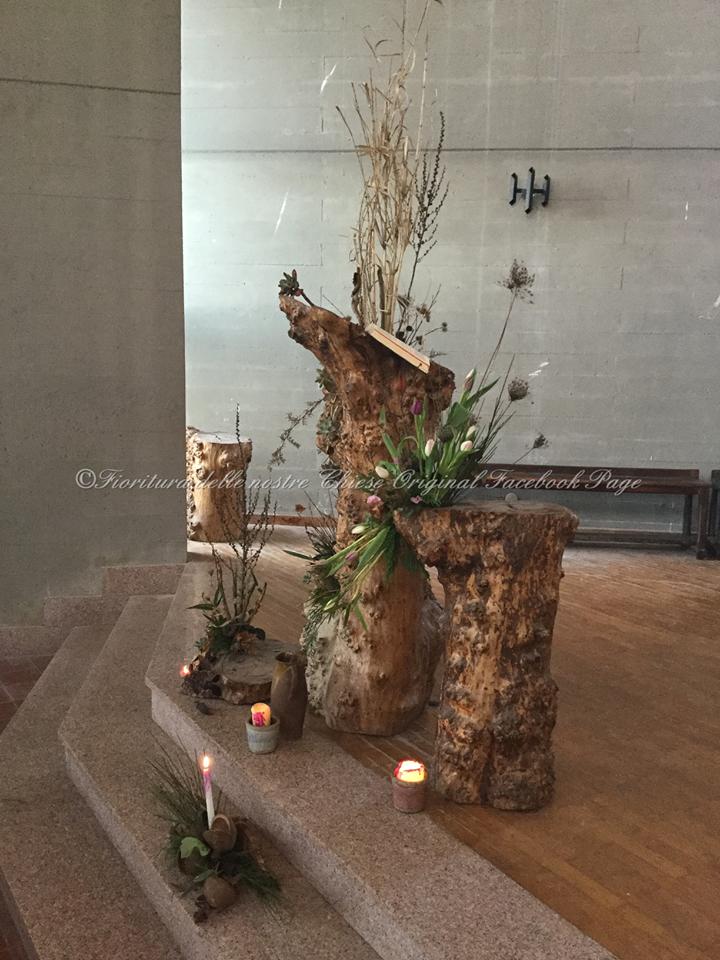 Arte floreale per la liturgia la fioritura nel tempo di for Colori del rivestimento della baracca