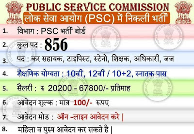 MPPSC Recruitment 2018