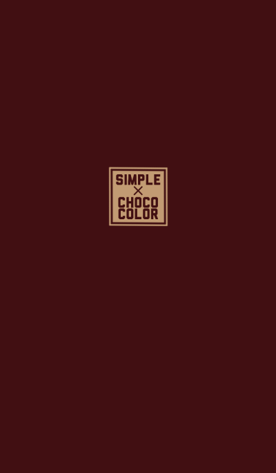 SIMPLE * CHOCO color
