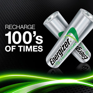 energizer duracell ricaricabile stilo aa 2300mah