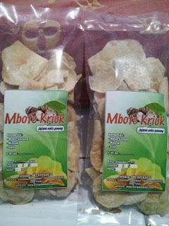 Kripik Mbote (Talas) Renyah dan Tidak Gatal