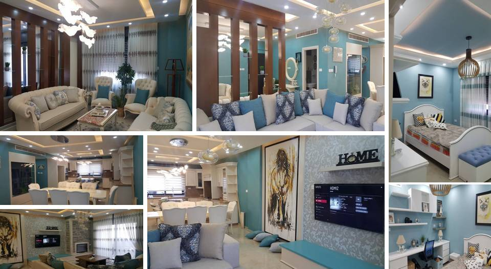 0%2B%2BCharming%2BBlue%2BAccent%2BApartment%2BWith%2BCompact%2BLayouts Charming Interior Blue Accent Apartment With Compact Layouts Interior