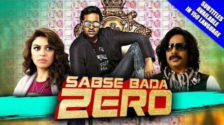 Poster Of Free Download Sabse Bada Zero 2018 300MB Full Movie Hindi Dubbed 720P Bluray HD HEVC Small Size Pc Movie Only At worldfree4u.com