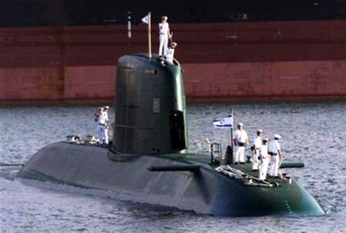Kapal Selam Israel kelas Dolphin