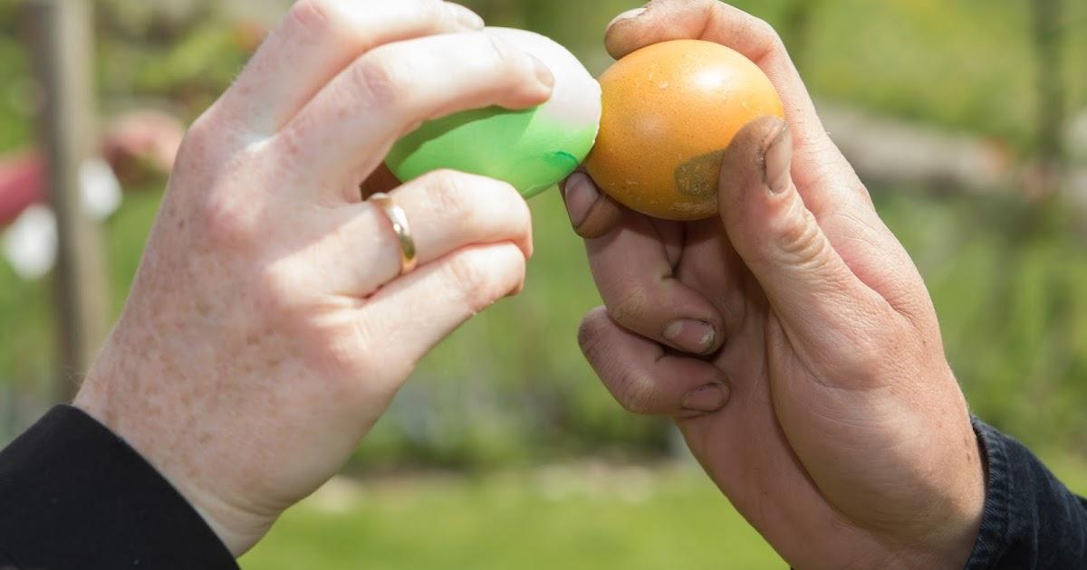 gl cksfl gel spiele f r den ostersonntag eierpecken und eierscheiben. Black Bedroom Furniture Sets. Home Design Ideas