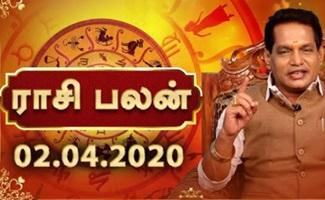 Dhina Palan 02-04-2020 Rajayogam Tv Horoscope