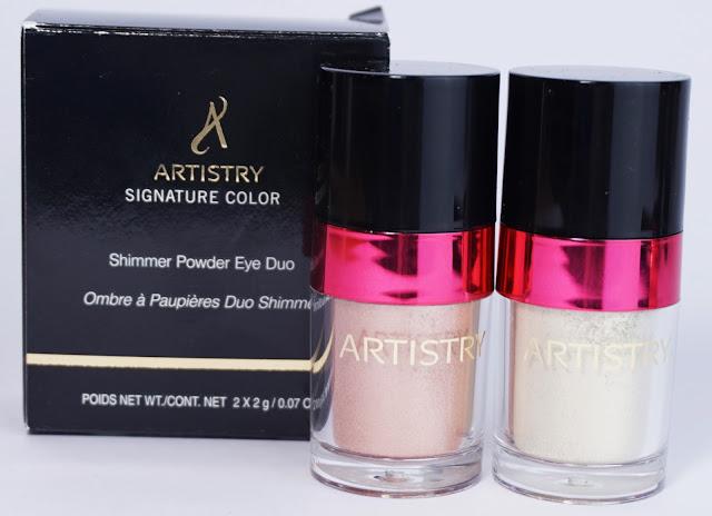 """ARTISTRY - Frühjahrskollektion """"Modern Icon"""" Schimmer-Puder-Lidschatten-Duo Subtle Chic Pigment, Perlmutt, Pfirsich"""
