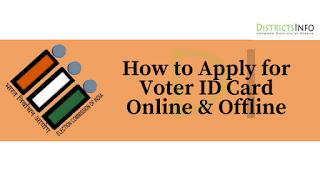 Voter ID Card Online & Offline