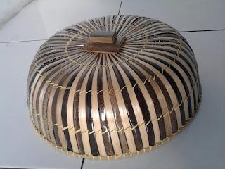 Produk Tudung saji dari bambu