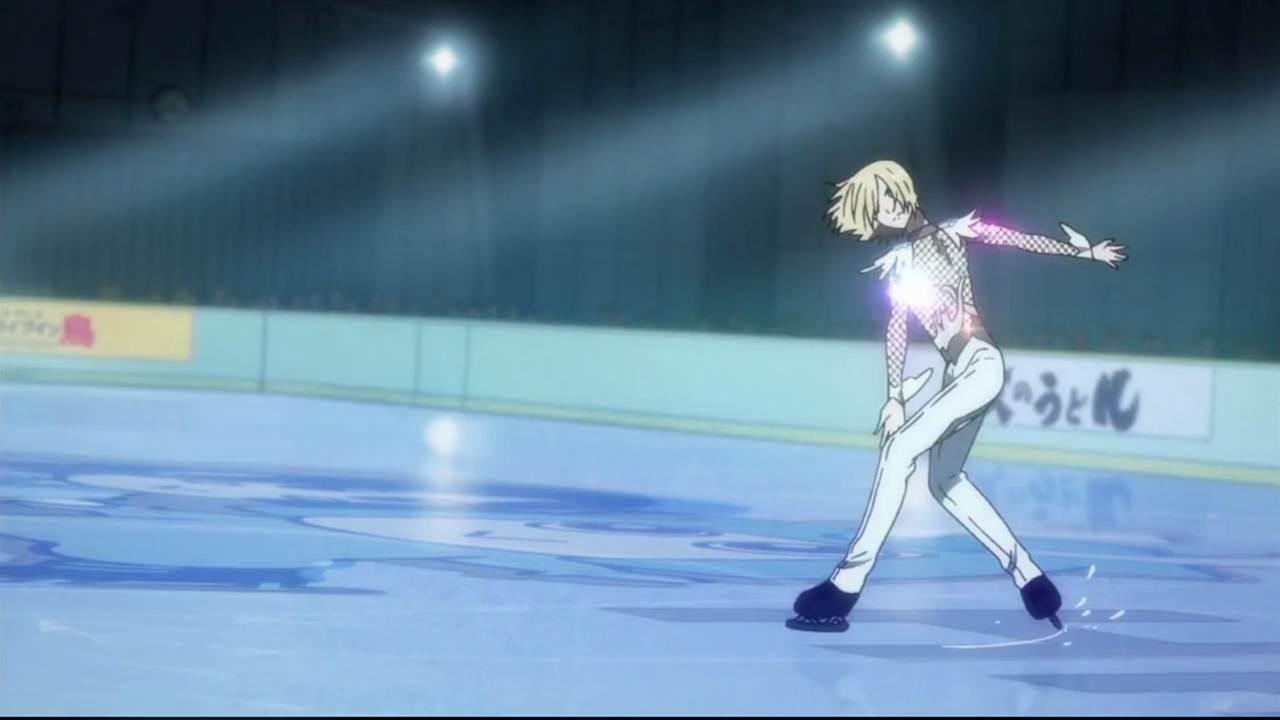 Yuri on Ice cap 3 sub español