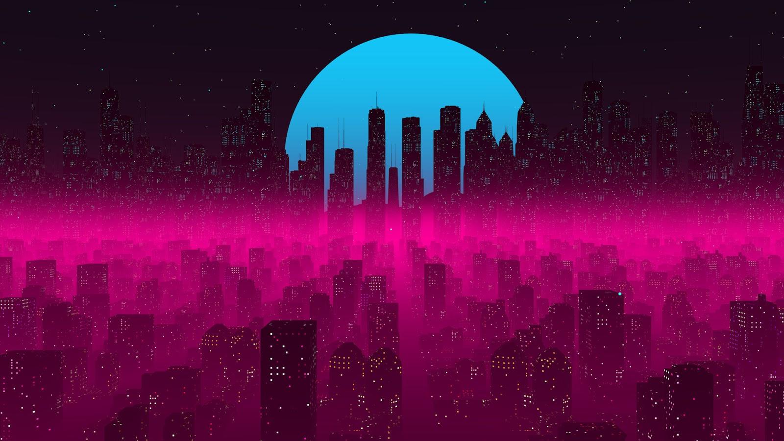 Cyberpunk City Wallpaper 4k Heroscreen Cool Wallpapers