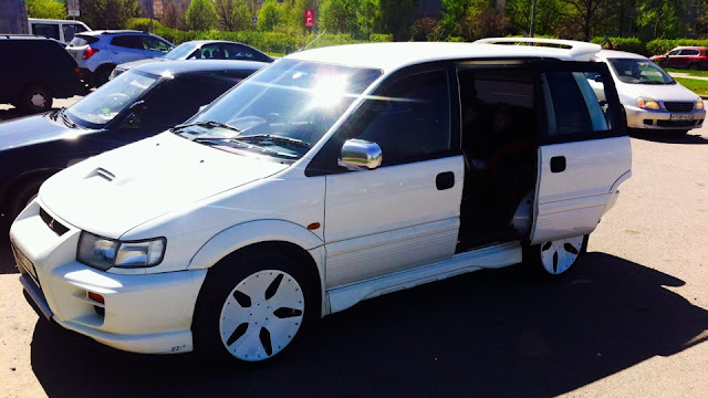 Mitsubishi RVR, minivan, turbo, AWD