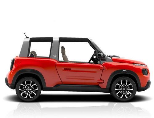 Tinuku.com Electric car Citroën e-Mehari come with iteration classic retro power