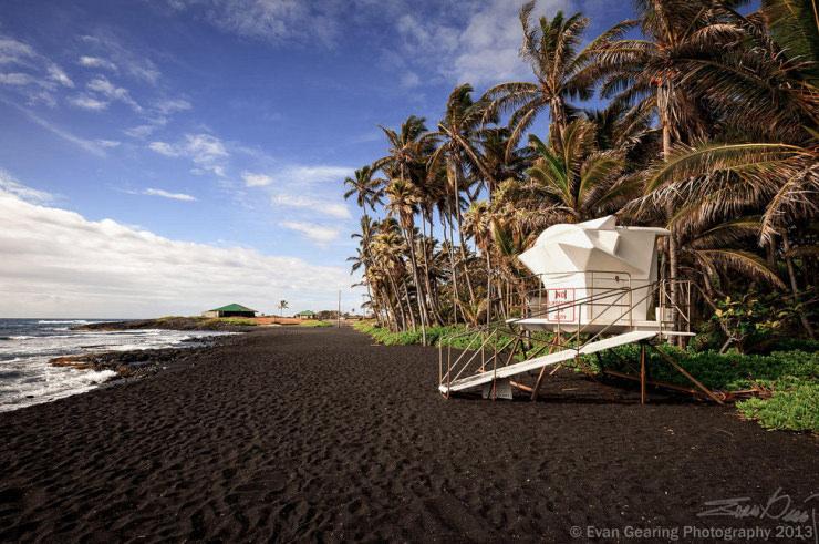 33 Amazing Beaches From Around The World - Punaluʻu, The Big Island, Hawaii
