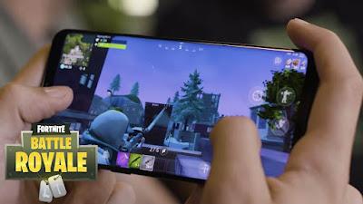 لعبة fortnite متوفر الان على العديد من هواتف الاندرويد