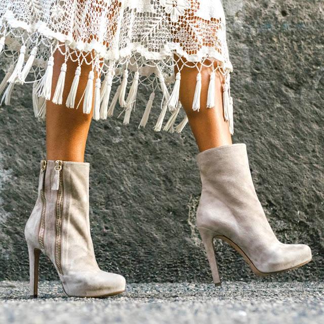 Pura Lopez Joana Ankle Boots