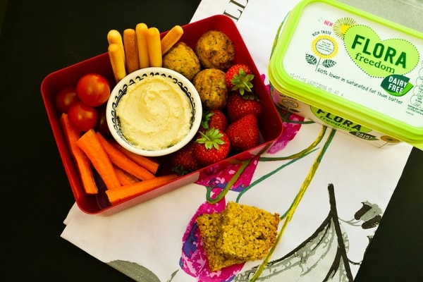 THURSDAY MEAL PLAN - vegan kids lunch box