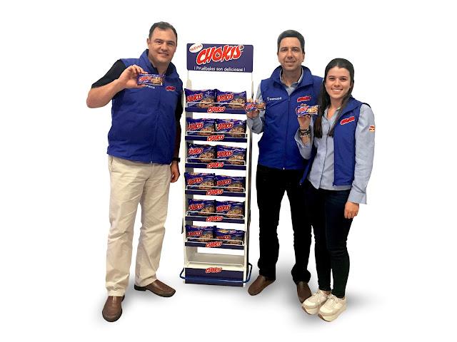 Las galletas chokis® llegan a Ecuador de la mano de Pepsico