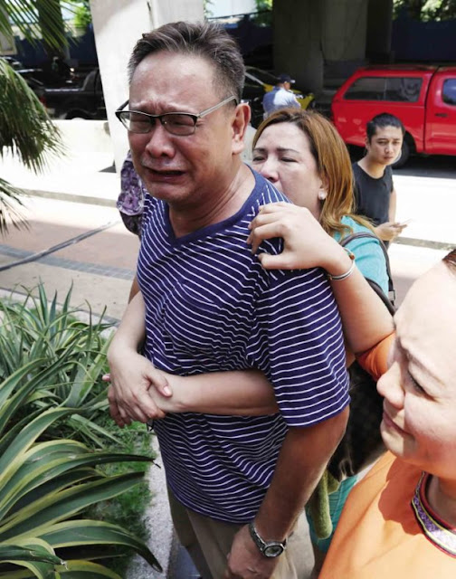 'Give Me My Daughter's Body!' This Mourning Father Asks For The Her Daughter's Body Who Died in The Attack At The Resorts World!