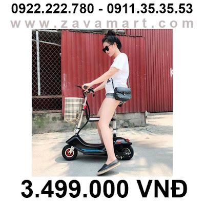 Xe điện mini E-Scooter chính hãng có thể gấp gọn mới 2018