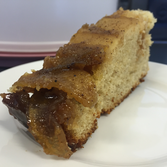 Why I Never Follow the Recipe - Apple and Cinnamon Upside Down Cake