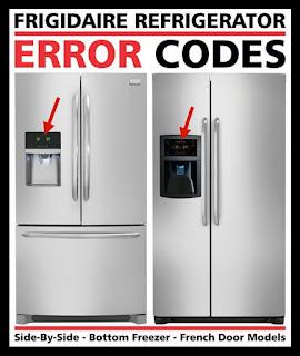 Reparaciones C 243 Digos De Error Del Refrigerador Frigidaire