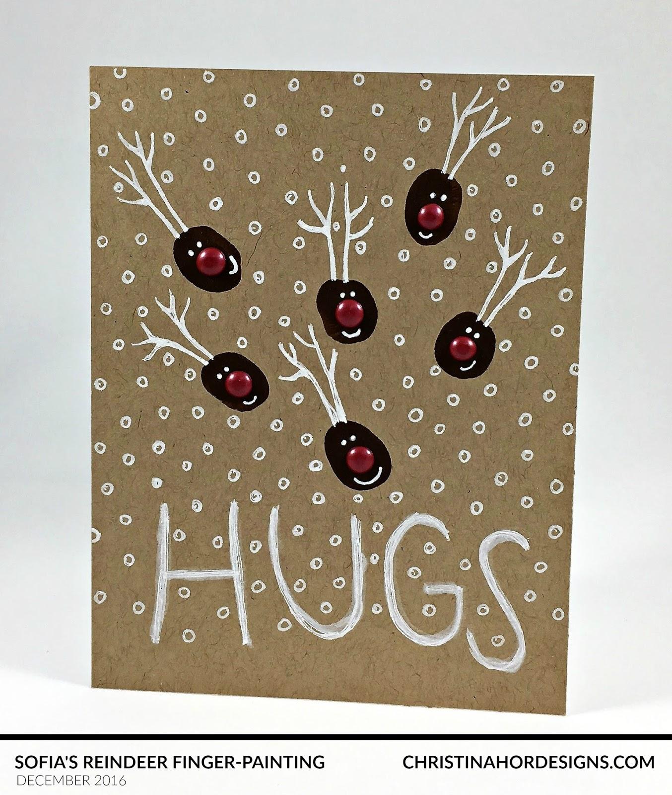 fingerpainting craft kids holiday card for hospitalized kids nationwide children's hospital