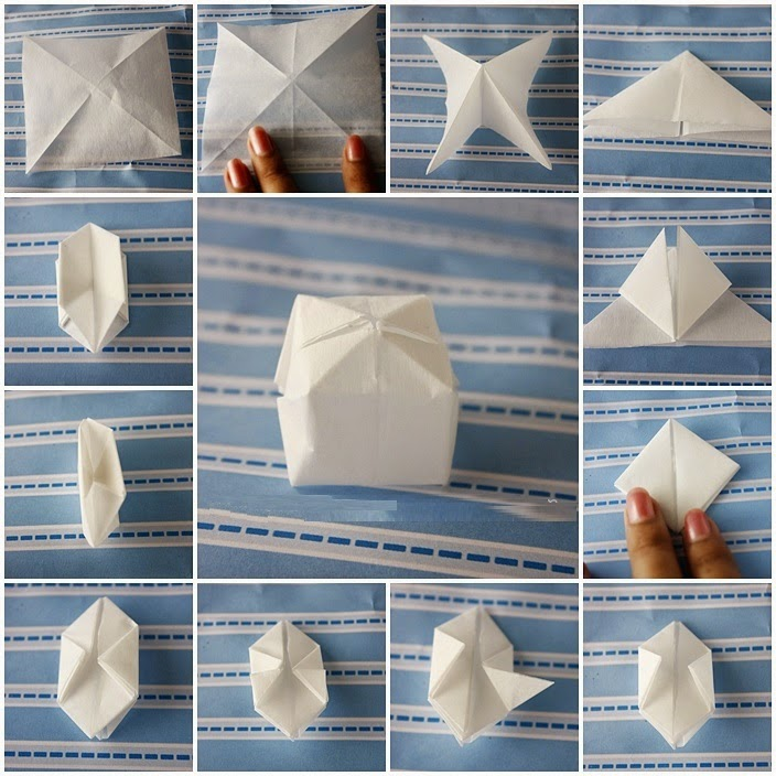 making origami paper