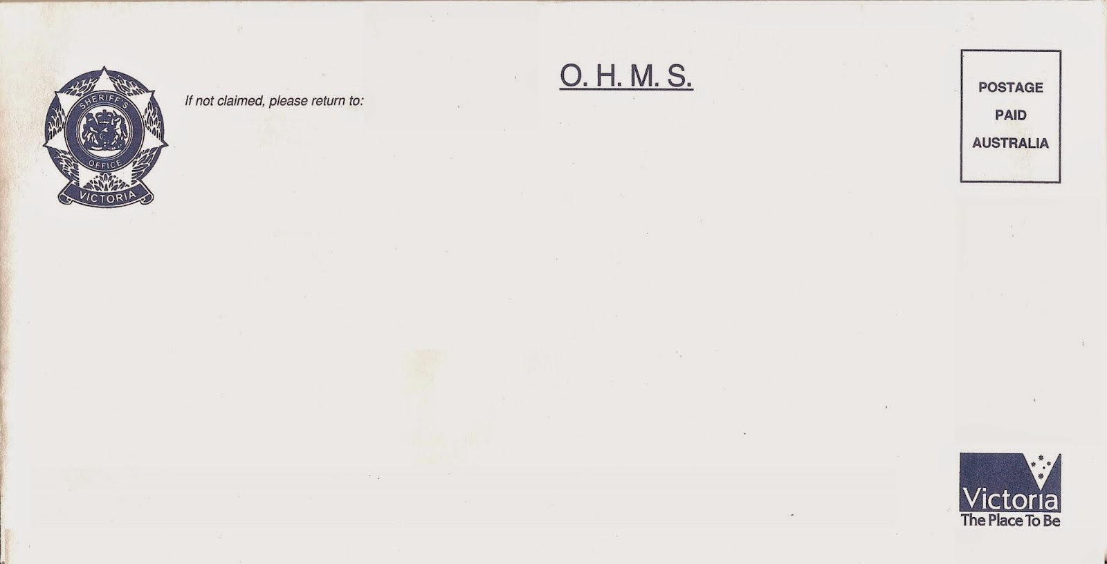 Corporate Australia: Sheriff OHMS