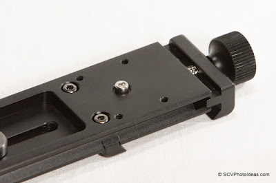 Benro MPB10 bottom clamp side closeup